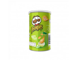 Pringles Potato Crisps Sour Cream With Cap - Case
