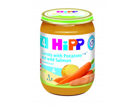 Hipp Organic Carrot wth Potato & Wild Salmon - Case