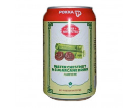 Pokka Can Drink Water Chestnut and Sugarcane - Case
