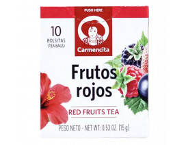Carmencita Red Fruits Herbal Tea - Case