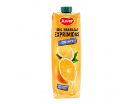 Juver 100% Fresh-Squeezed Orange Juice without Pulp - Case