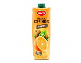 Juver 100% Fresh-Squeezed Orange Juice with Kiwi - Case