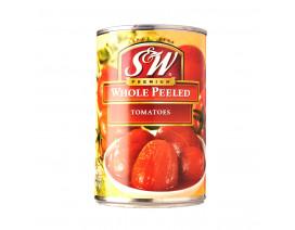 S&W Whole Peeled Tomatoes - Case