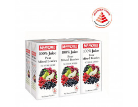 MARIGOLD 100% Pear Mixed Berries Juice - Case