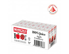 MARIGOLD 100% Apple Cranberry Juice - Case