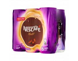 NESCAFE Milk Coffee Mocha Can - Case