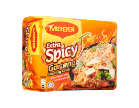 MAGGI Extra Spicy Goreng Blazing Chilli Instant Noodles - Case