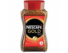 NESCAFE Gold Blend Decaf Instant Soluble Coffee - Case