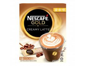 NESCAFE Gold Instant Premix Coffee Creamy Latte - Case