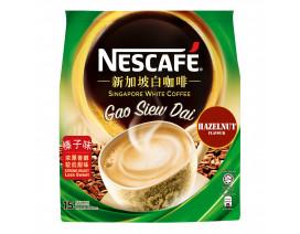 NESCAFE Singapore White Coffee Gao Siew Dai Hazelnut - Case