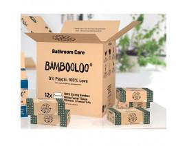 Bambooloo Super soft 100% bamboo facial tissues - Case