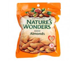 Nature's Wonders Baked Nuts Almonds - Case