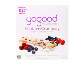 Yogood Blueberry Cranberry Muesli Bars - Case