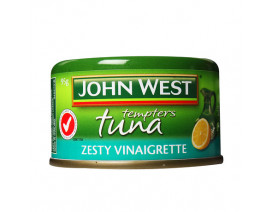 John West Zesty Vinaigrette Tuna Tempters - Case