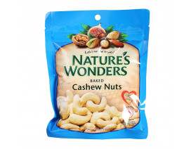 Nature's Wonders Baked Nuts Cashew - Case