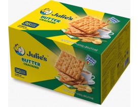Julie's Butter Crackers 900g - Case
