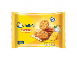 Julie's Cheese Crackers 100g - Case