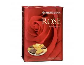 Khong Guan Rose Biscuits Assortment Tin - Case