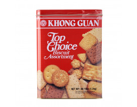 Khong Guan Top Choice Biscuit Assortment Tin - Case