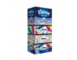 Kleenex 3-Ply Ultra Soft Floral Facial Tissues 5 x 100's - Case