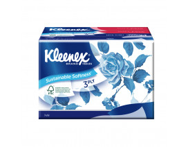 Kleenex 3-Ply Soft Pack Floral Facial Tissue 4 x 50's - Case