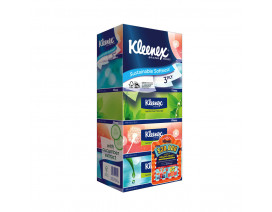 Kleenex 3-Ply Ultra Soft Natural Facial Tissues 5 x 100's - Case