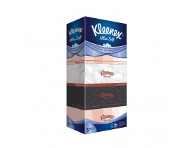 Kleenex 3-Ply Ultra Soft Vintage Facial Tissues 5 x 100's - Case