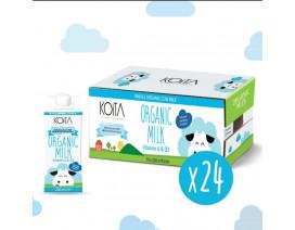 Koita Premium Organic Whole Milk - Case