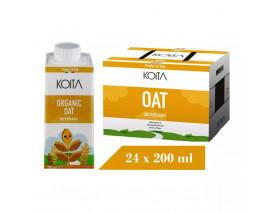 Koita Organic Oat Milk - Case