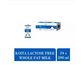 Koita Lactose Free Whole Fat Milk Added Vitamin D - Case