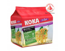 Koka Delight NO MSG Curry Flavour Instant Noodles - Case