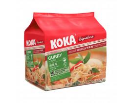 Koka Signature NO MSG Curry Flavour Instant Noodles - Case