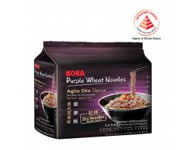 Koka Purple NO MSG Aglio Olio Flavour Instant Noodles - Case