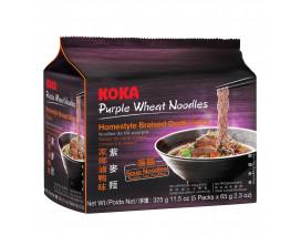 Koka Purple NO MSG Braised Duck Flavour Instant Noodles - Case
