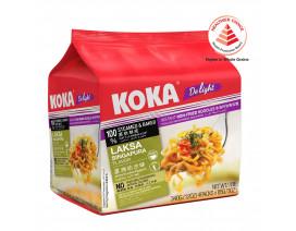Koka Delight NO MSG laksa Singapura Flavour Instant Noodles - Case
