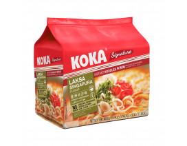 Koka Signature NO MSG Laksa Singapura Flavour Instant Noodles - Case