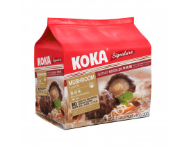 Koka Signature NO MSG Mushroom Flavour Instant Noodles - Case
