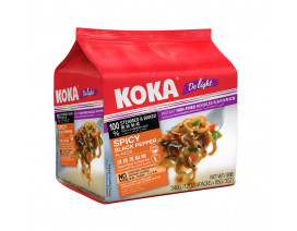 Koka Delight NO MSG Spicy Blackpepper Flavour Instant Noodles - Case