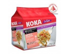 Koka Delight NO MSG Spicy Sesame Flavour Instant Noodles - Case