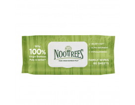 NooTrees Bamboo Hand Face Family Wet Wipes 80s - Case