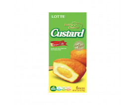 Lotte Best Choice Custard Cream Cake - Case