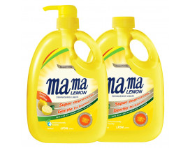 Mama Lemon Dish Washing Liquid Lemon Gold with Refill - Case