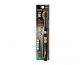Systema Sonic Brilliant Black Toothbrush - Case