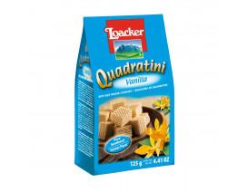 Loacker Vanilla Quadratini Crispy Wafers  - Case