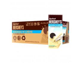 Soyfresh Hershey's Soya Packet Milk Cookies'N'Creme - Case