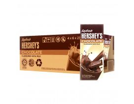 Soyfresh Hershey's Soya Packet Milk Chocolate - Case