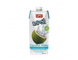 UFC Refresh 100% Natural Coconut Water - Case