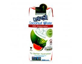 UFC Refresh Coconut Water Packet Drink Watermelon - Case