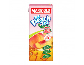 Marigold Ice Peach Tea Drink Less Sweet - Case