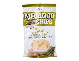 Little Keefy Melinjo Chips Nori Seaweed Flavour - Case